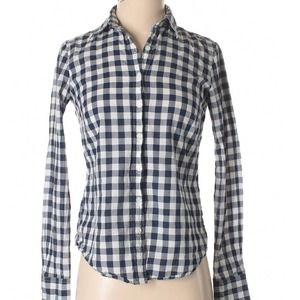 Izod | plaid checkered button down shirt